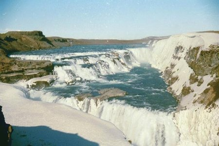 Gulfoss Waterfall (Golden Waterfall) | Iceland