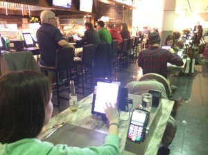 Dining with Technology | Toronto YYZ Airport