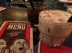 White Russians | The Lebowski Bar, Reykjavik, Iceland