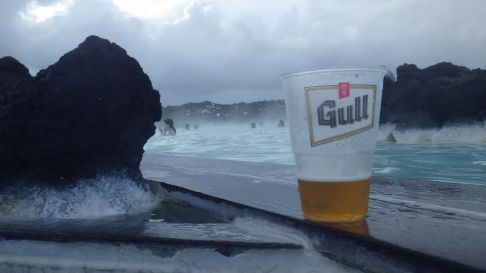 Gull Beer | Blue Lagoon, Iceland