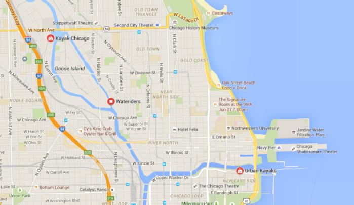 Kayak Map