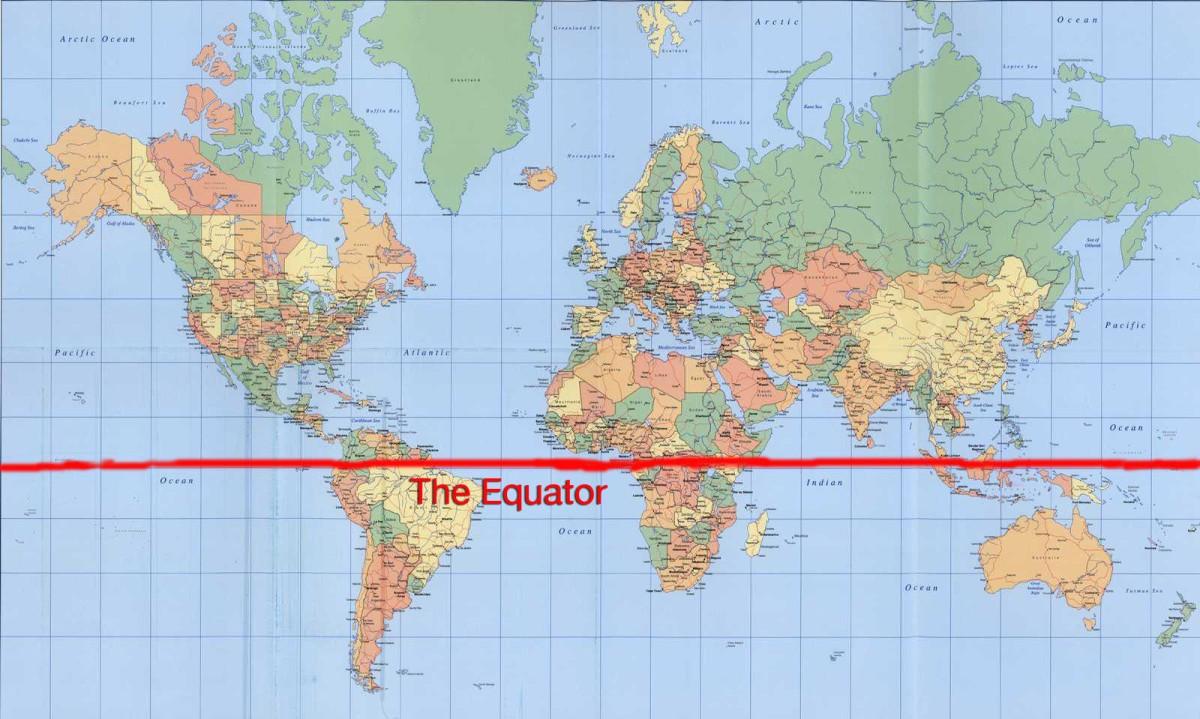 Wandering South of the Equator  WANDERING WORLDWIDE